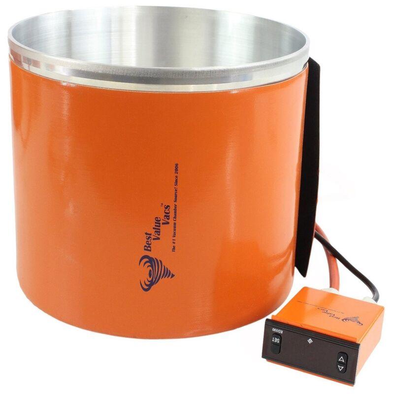 3 Gallon Vacuum Chamber Digital Heating Jacket