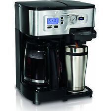 Hamilton Beach 2-Way FlexBrew Single Serve and 12-Cup Coffeemaker