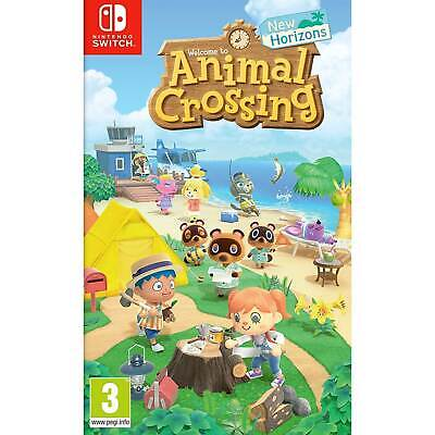 Animal Crossing New Horizons NINTENDO SWITCH New and Sealed IN STOCK NOW