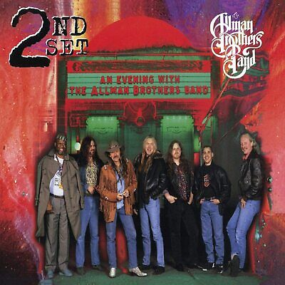 The Allman Brothers Band An Evening With-2nd Set Live CD NEW Jessica+