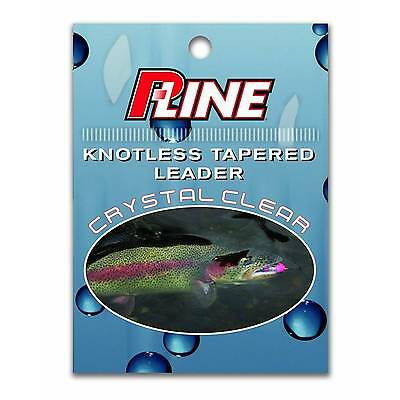 Fly Fishing Stone Creek Knotless Tapered Leader 7.5ft 4X 3pk