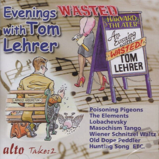 [BRAND NEW] CD: TOM LEHRER: EVENINGS WASTED WITH TOM LEHRER