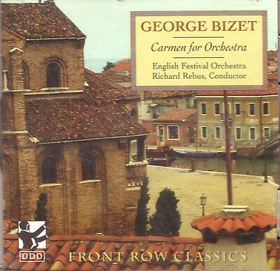 George Bizet - Carmen For Orchestra By English Festival Orchestra (new Cd)
