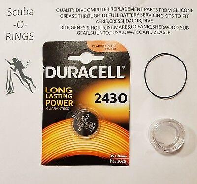 Premium battery replacement kit to fit suunto C1 Stinger Spyder dive computer.