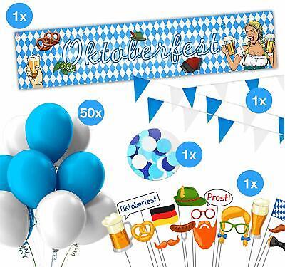 XXL Oktoberfest Set Deko Girlande, Dekoration, Partydekoration - Dekorationen Party