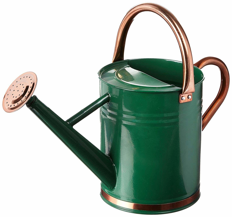 Vintage Watering Can Metal 1 Gallon Sprinkling Water Outdoor