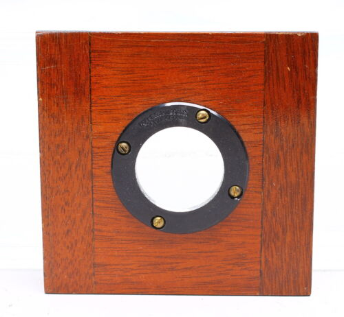 DEARDORFF 4X4 WOOD LENS BOARD #18