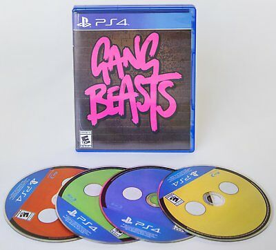 OFFICIAL Gang Beasts PS4 Physical Game
