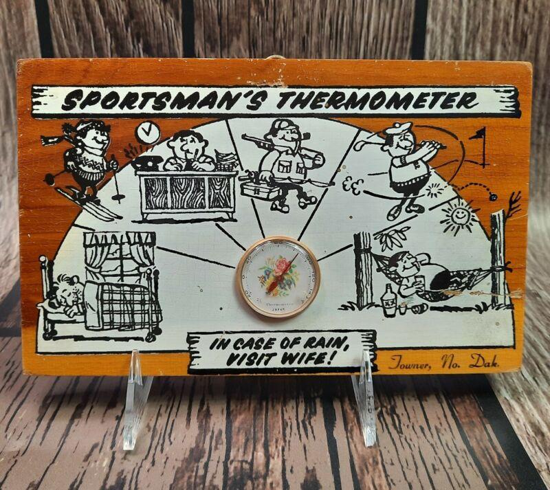 Vtg J.B. Deere CedarCraft TOWNER Souvenir Sportsman