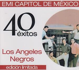 CD - Los Angeles Negros NEW EMI Capitol De Mexico 2 CD's FAST SHIPPING !