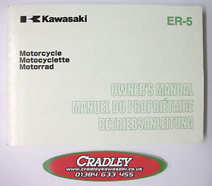 Kawasaki ER-5 C3/D2 models Owners Manual.