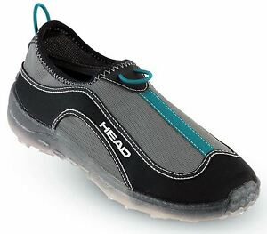HEAD-Deluxe-Fast-Drain-Aqua-Trainer-Beach-Shoes-Black-Blue-Mens-Ladies