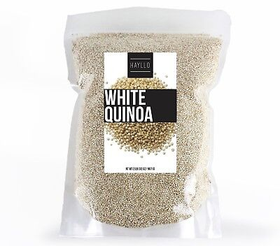 Hayllo Superfood Peru White Royal Quinoa In Resealable Bag  2 Pounds