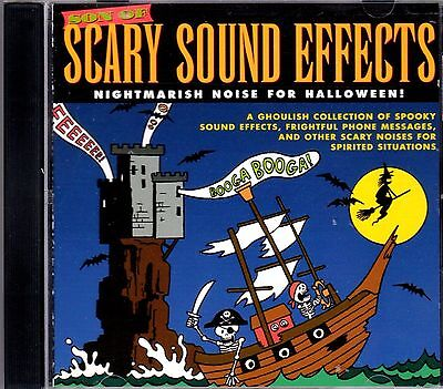 SON OF SCARY SOUND EFFECTS: NIGHTMARISH NOISE FOR HALLOWEEN! CLASSIC 1995 OOP CD (Halloween Noises Scary)