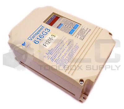 Yaskawa Cimr-g3a23p7 200v Inverter Drive Varispeed 616g3 23p71e