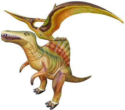 Inflatable Spinosaurus Pteranodon Dinosaur Model Jurassic Toy Party Gift Kids