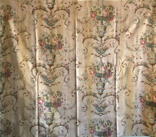 Beautiful 19th C. Printed Cotton Neo-Classic Fabric  (2875)