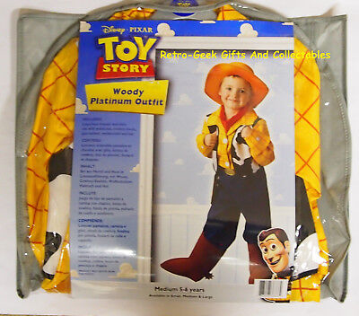 Kids Halloween Fancy Dress Platinum Toy Story Woody Outfit Accessories By - Woody Costume Accessories
