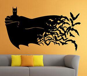 Batman Wall Vinyl Decal The Dark Knight Comics Superhero