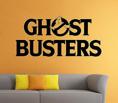 Ghostbusters Wall Decal Cartoon Comics Hero Vinyl Sticker Art Home Mural Decor 7 - Ghostbusters Decorations