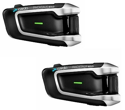 2019 Cardo Scala Rider Packtalk Bold Duo JBL Bike Bluetooth Intercom JBL Speaker Scala Rider Intercom