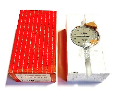 Mitutoyo Dial Indicator .001 - .250 Dial Reading 0-100 Made In Japan 3410
