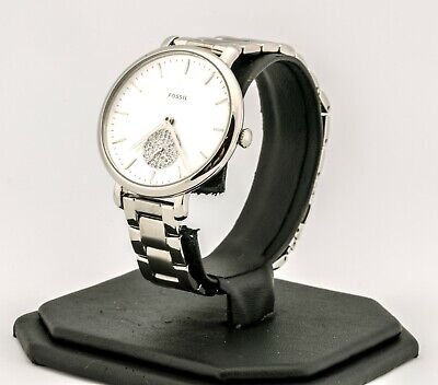 Women's Fossil Watch, Jacqueline Three-Hand Stainless Steel Watch ES4437, New