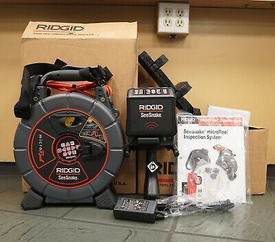 Ridgid Camera Inspection Monitor Seesnake Cs6x Micro Reel L100c 56803 35183 Kit