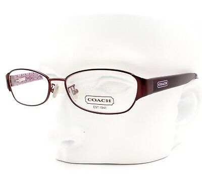 Coach HC 5018 9070 Rose Eyeglasses Frames Glasses Satin Purple Size (Rose Eyeglasses)