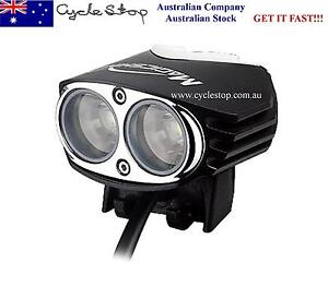 MTB BIKE LIGHTS KIT- SUPER BRIGHT 2000 Lumen LED RECHARGEABLE MAGICSHINE MJ-880