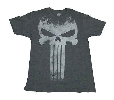 Punisher T Shirt (Marvel Comics The Punisher Big Skull Logo Distressed Frank Castle Men's T)