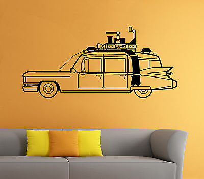 Ghostbusters Car Wall Decal Cartoon Comic Hero Vinyl Sticker Home Mural Decor 13 - Ghostbusters Decorations