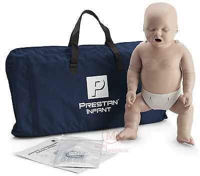 Prestan Infant Cpr Manikin Medium Tone Pp-im-100-ms Cpr Training Mannequin