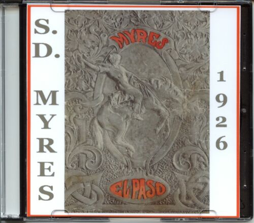 1925-26 S.D. Myres Saddle Co. - Saddles, Spurs