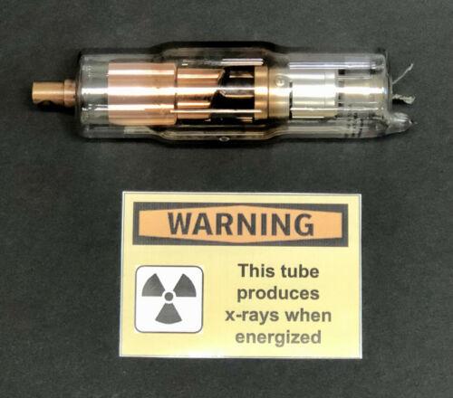 TESTED X-Ray Tube 100kV@10mA ~Canon D-205B Tesla High Voltage Quantum Radiation