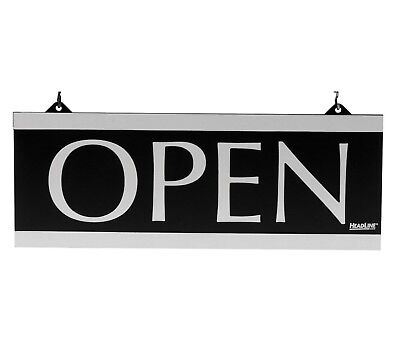 Headline Century Series Reversible Open Closed Sign 5x13 Double Sided 4246