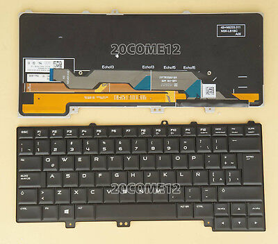 New for DELL Alienware 15 R1 & 15 R2 Keyboard Backlit Latin...