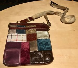 COACH Patchwork Swingpack Crossbody Purse