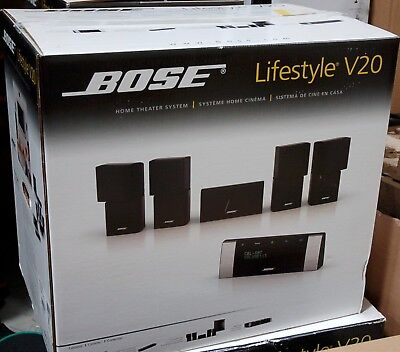 Bose Lifestyle V20 Hdmi Home Theater 5 1 Speaker System