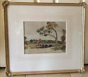 Original water colour painting from 1926 by George Bell Wangaratta Wangaratta Area Preview