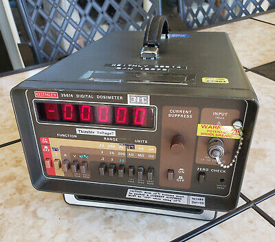 Keithley 35614 Digital Dosimeter Radiation Meter Used Electrometer Rare