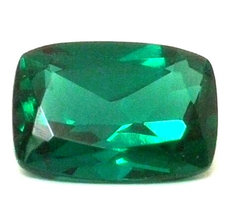 Lab-created Emerald cushion cut (9x7mm - 7x5mm)