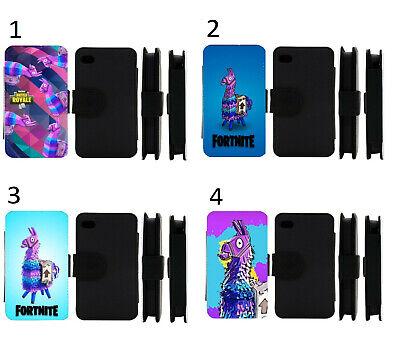 Llama Loot iPhone Flip / Wallet Case IP5/6/7/8/X/XR/ Samsung Galaxy S5/6/7/8/9  (Ip5 Wallet)