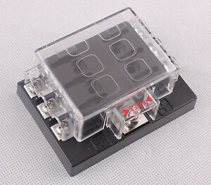New-6-Way-Circuit-Car-Boat-Auto-Blade-Fuse-Box-Block-Holder-DC32V-ATO-ATC