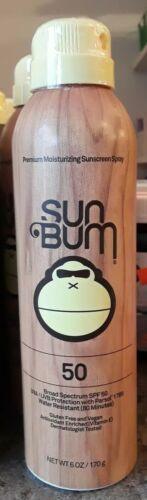 Sun Bum Continuous Spray Sunscreen SPF 50 - 6oz - New - Expi