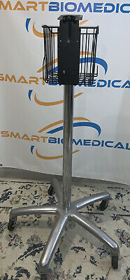 Welch Allyn 420 Series Spot Check Patient Monitor Rolling Stand With Basket