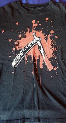 Sweeney Todd Bloody Razor Blade T-Shirt XL
