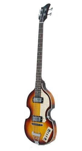 Alden AD-B2VS Violin Bass Guitar Vintage Sunburst Hollow Body Hofner Style New