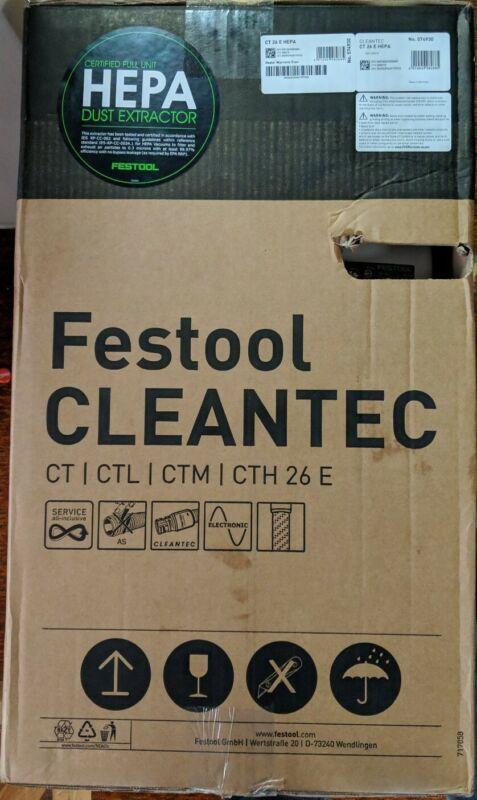 Festool  Cleantec 574930 CT 26 HEPA Dust Extractor - New!!! (CR)