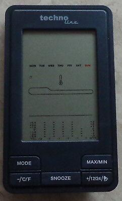 Wetterstation W14 mit LCD-Uhr und vielen Funktionstasten